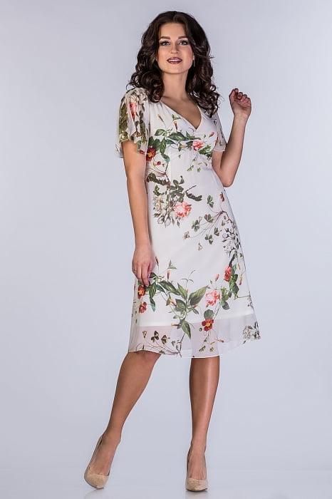 e5777d23e35 Платье шифоновое Монро 2 цвета – купить оптом от производителя ...